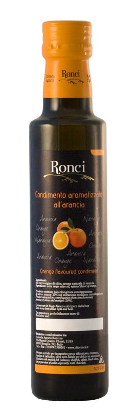 olio aromatizzato all'arancia_olio di oliva Ronci