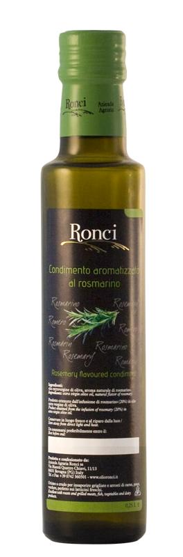 Olio aromatizzato al rosmarino